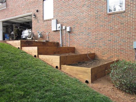 Raised Beds, Raised Beds On A Slope, Vegetable Garden