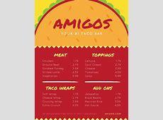 Customize 69+ Mexican Menu templates online Canva