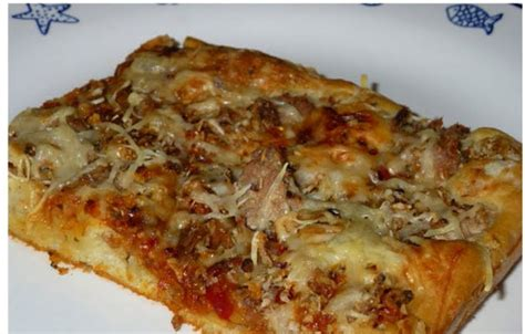 pate a pizza thermomix rapide pizza liquide au thon avec thermomix recette thermomix
