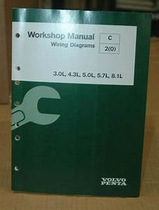 Volvo Penta Workshop Manual  Wiring Diagram  3 0l  4 3l  5