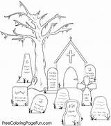 Tombstone sketch template
