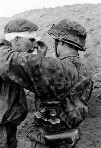 Wwii Photo Wounded German Soldier Head Wound Ww2 World War