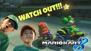 Kids play Mario Kart 8 again. Watch the fierce competition ...
