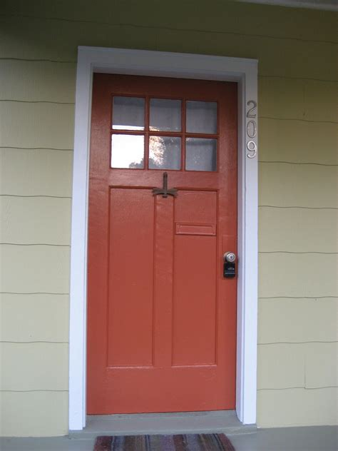 sherwin williams jalapeno paint orange red front door