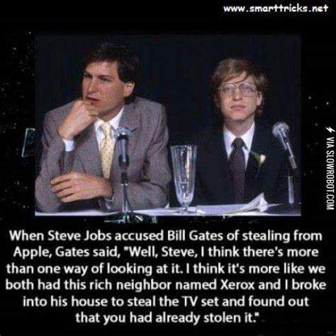 When Steve Jobs accused Bill Gates of Stealing