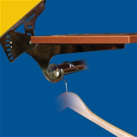 sloped ceiling rod brackets woodworking network