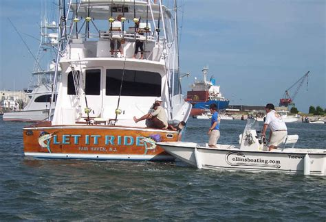 Back Of A Boat by June 11 Big Rock Marlin Tournament Morehead City Nc