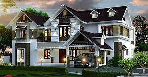3974, Sq, Ft, Double, Floor, Contemporary, Home, Designs