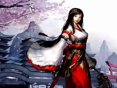 Warrior Anime Female Chinese Japanese Asian Atlantica