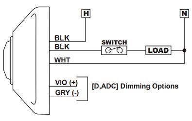 Acuity Controls Sensor Switch Cmr Pdt Ceiling Mount
