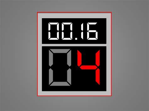 powerpoint timer animation template shot clock elearningart