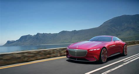 luxury mercedes vision mercedes maybach 6 mercedes benz