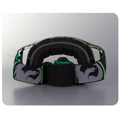 dragon motocross goggles dragon vendetta goggles linear green dirtbikexpress