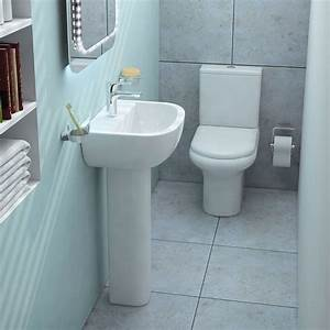 Compact complete bathroom suite buy online at bathroom city for Buy bathroom suite uk