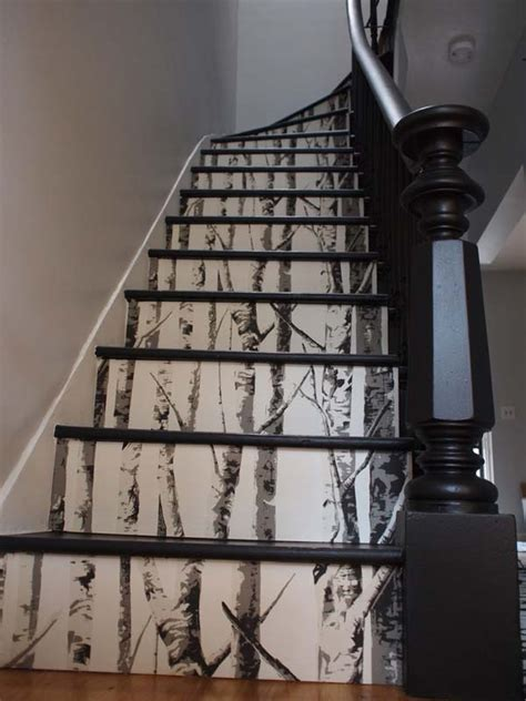 20 Diy Wallpapered Stair Risers Ideas To Give Stairs Some. Butterfly Office Decor. Home Goods Home Decor. Craigslist Rockville Md Rooms For Rent. Pool Room Accessories. Ideas For Boys Room. Rustic Dining Room Table Sets. Wine Decorating Ideas. Room Air Purifier
