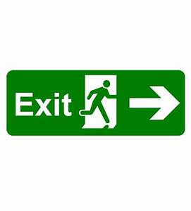 Emergency Exit Light with Direction