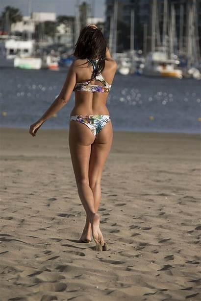 Nadia Bikini Forde Beach Swimsuit Santa Pink
