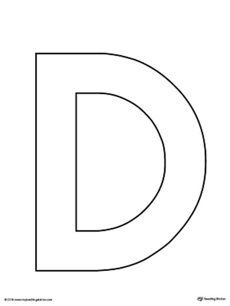 letter d template letter d writing steps mat printable myteachingstation