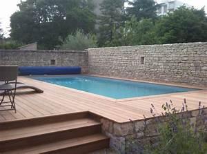 piscine semi enterree terrain en pente lh79 jornalagora With comment amenager sa piscine 10 piscine semi enterree conseils prix installation