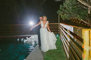 Wedding Dress Designer Austin Liney Moon Wedding Stellar House Moon Chapel Austin