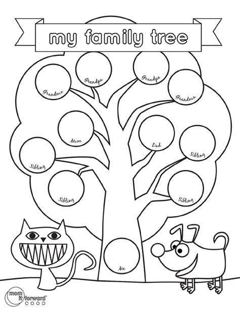 Family Tree Template For Pages by Family History Printables Archives It Forward