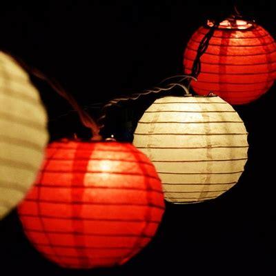 Paper Lantern String Lights  Mini Paper Lanterns