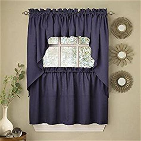 solid color kitchen curtains ribcord solid color kitchen tier curtain pair 5596