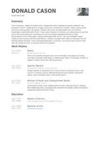 resumes for baptist pastors pastor resume sles visualcv resume sles database