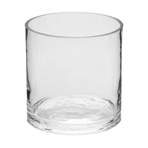cylinder glass vases 6x6 cylinder glass vase glass container