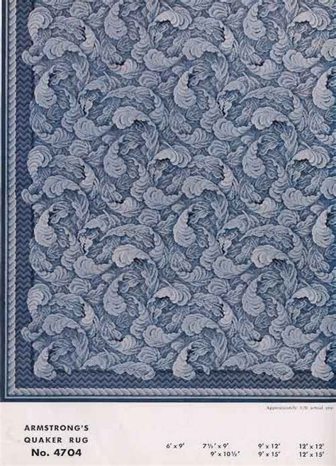 armstrong flooring 31 linoleum rugs from armstrong 1954 vintage 1950s