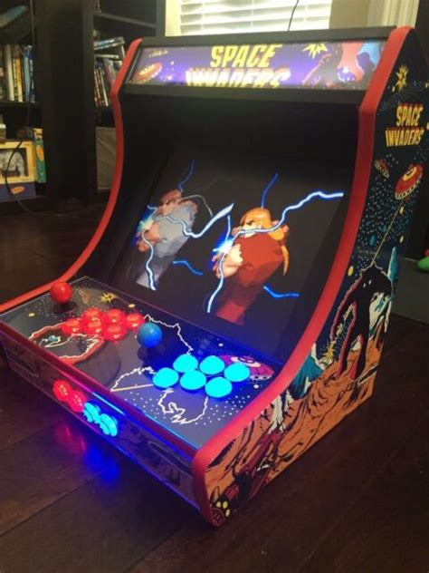 T Molding Arcade Cabinet mdf bartop arcade cabinet do it yourself kit with t