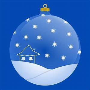 Boule De Noel Bleu : image vectorielle gratuite boule no l bleu boule de no l image gratuite sur pixabay 160985 ~ Teatrodelosmanantiales.com Idées de Décoration