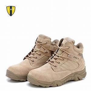 Delta Brand Military Tactical Boots Desert Combat Outdoor