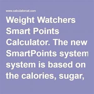 Weight Watchers Smartpoints Berechnen : 25 best ideas about ww calculator on pinterest points plus calculator ww points plus ~ Themetempest.com Abrechnung