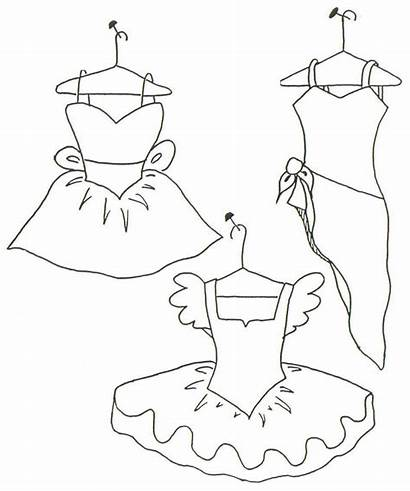 Coloring Own Pages Ballet Costume Dance Colouring
