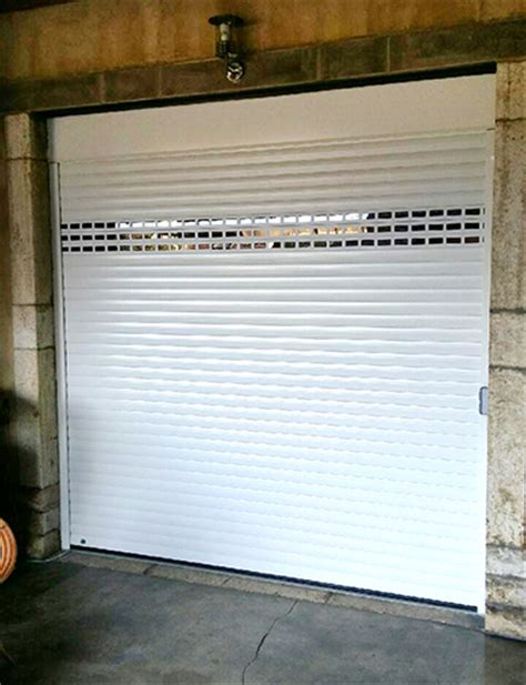 porte de garage enroulable vente et pose pk fermetures