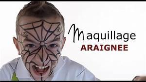 Maquillage Halloween Garcon : maquillage araign e tutoriel maquillage enfant facile ~ Melissatoandfro.com Idées de Décoration