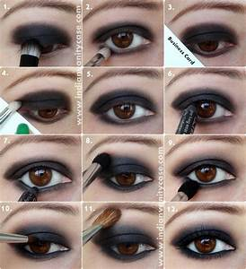 20+ Breathtaking Smokey Eye Tutorials To Look Simply ...