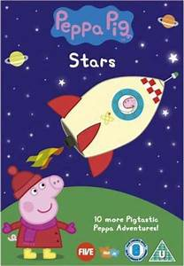 Book Chart Uk Peppa Pig Stars Dvd Zavvi