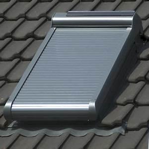 Fenetre De Toit Avec Volet Roulant Integre : volet roulant solaire pegasus pour velux m04 78x98cm ~ Premium-room.com Idées de Décoration
