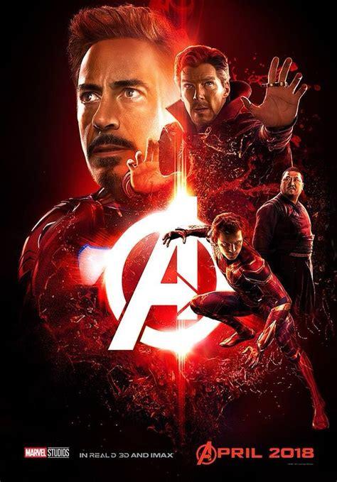 avengers infinity war posters de personajes marvel