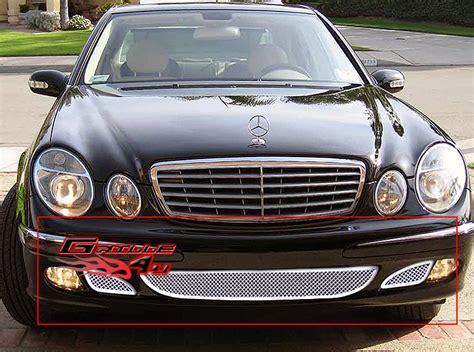Fits 03-06 Mercedes-benz E Class Bumper Mesh Grille
