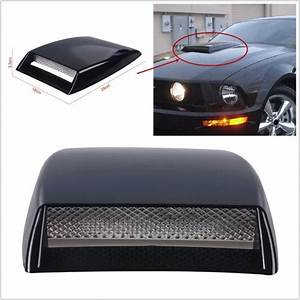 Scoop Auto : purchase universal car decorative air flow intake scoop bonnet simulation vent cover hood ~ Gottalentnigeria.com Avis de Voitures