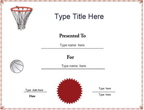 Netball Certificate Template Costumepartyrun