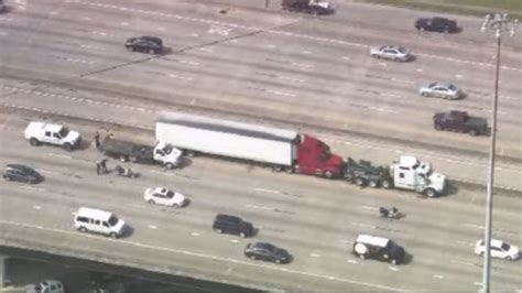 Truck Driver Shot During Altercation, Falls Off Gulf