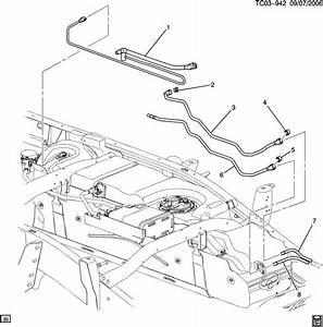 Chevrolet Silverado Hose  Fuel Tank Evaporator  Purge