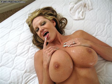Kelly Madison Jizzed On her massive juggs Free cougar sex