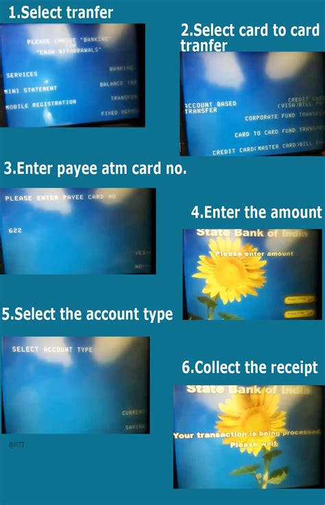 how to use the new atm to atm money transfer guide for indian banks researched