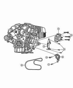 2003 Chrysler Sebring Convertible Lxi 2 7l V6 A  T Belt