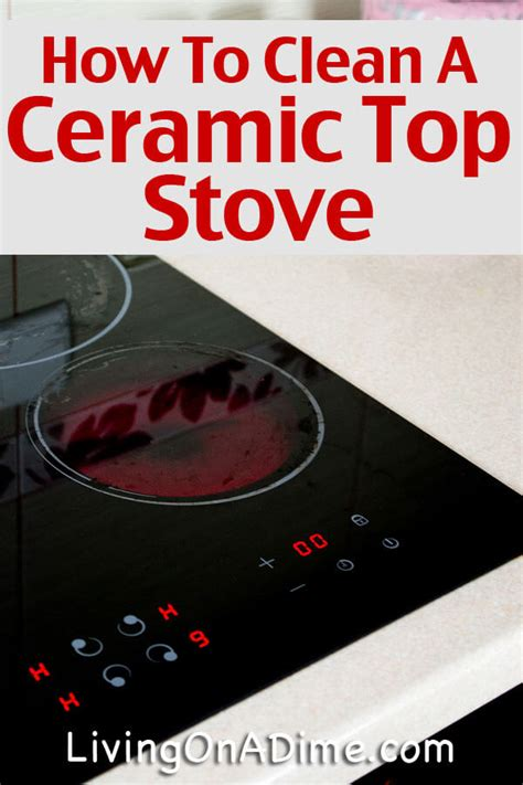 how to clean glass cooktop how to clean a ceramic top stove step by step
